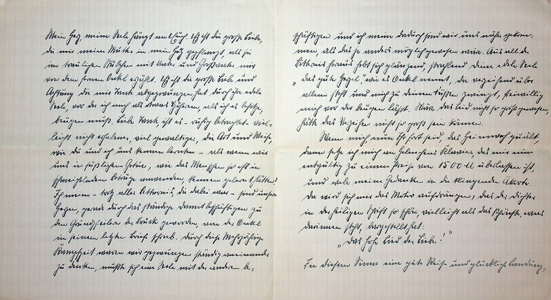 Eugen Haas to Eugen Klee, Feb. 8, 1926, p. 6 and p. 7