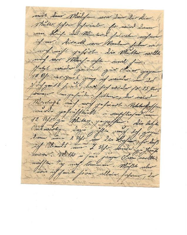 Caroline and Wilhelm Emmel to Karl Emmel, November 5, 1926, p. 3