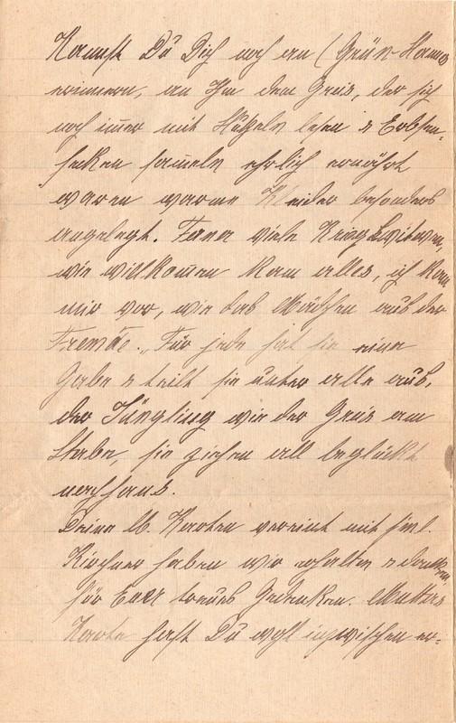 Mathilde Rettig and Heinrich Rettig to Eugen Klee, September 12, 1920, p. 8