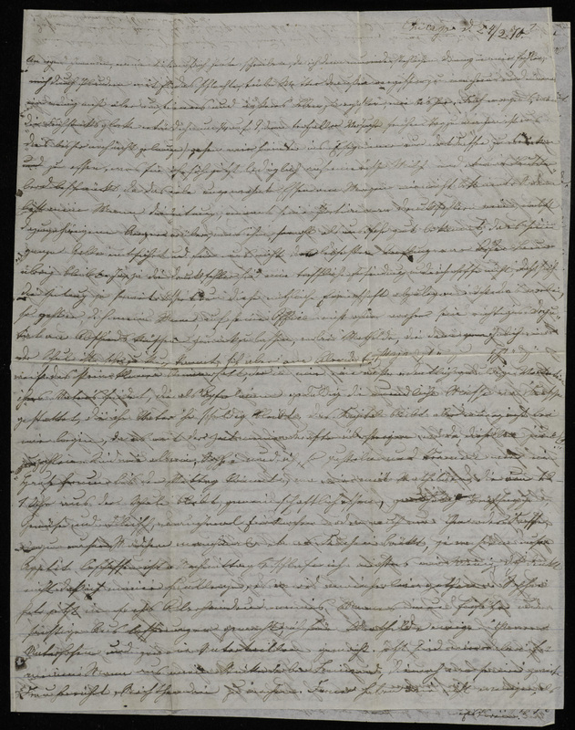 Margarethe Raster to Anna Oppenheim, February 24, 1870