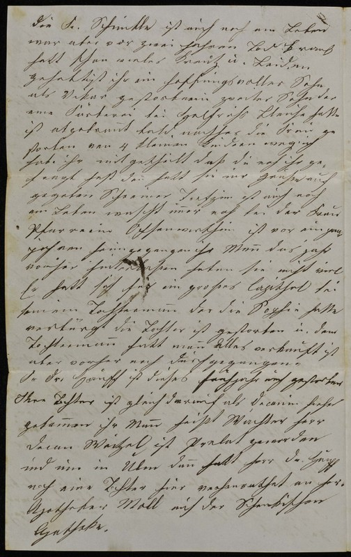 Höfeln family letter, November 14, 1869, page 6