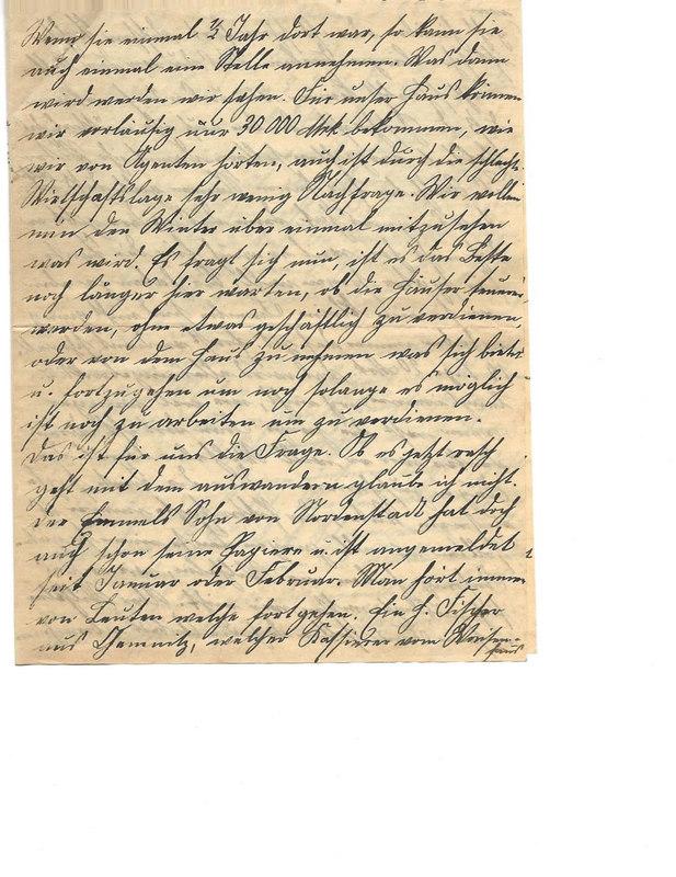 Caroline Emmel to Karl Emmel, July 28, 1926, p. 3