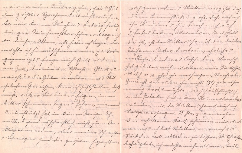 Fritz W. Berdel to Eugen Klee, July 6, 1920, p. 6 and p. 7