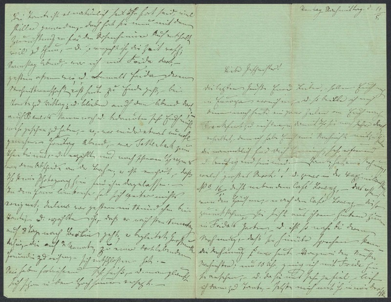 Emma Hilgard (von Xylander) to Henry Villard, May 11, 1869