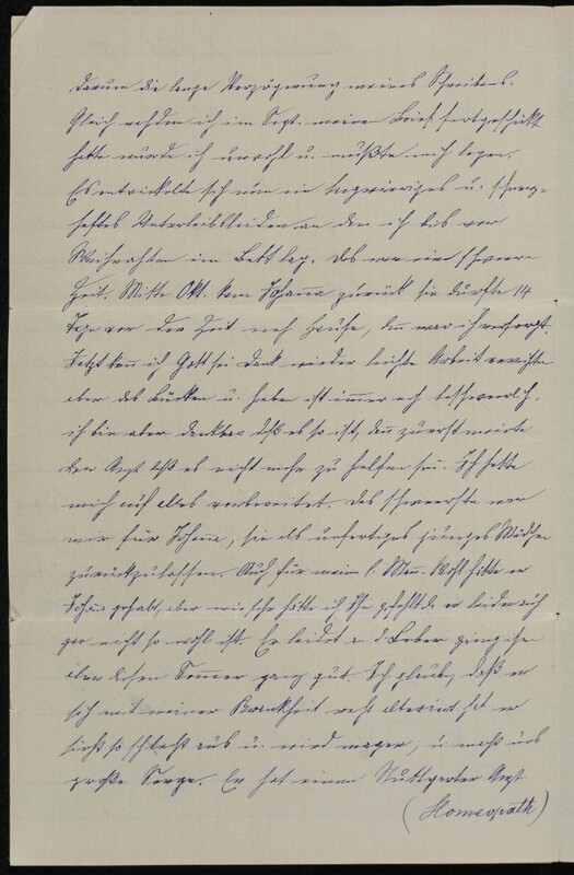 Hofeln family letter, February 9, 1890, p. 2
