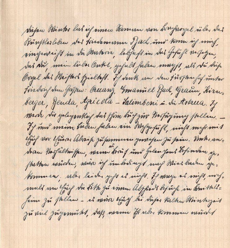 Eugen and Lisbeth Haas to Eugen Klee, January 18, 1926, p. 3