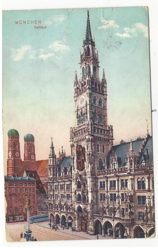 Fritz Höllmüller to Lina Höllmüller, December 21, 1910