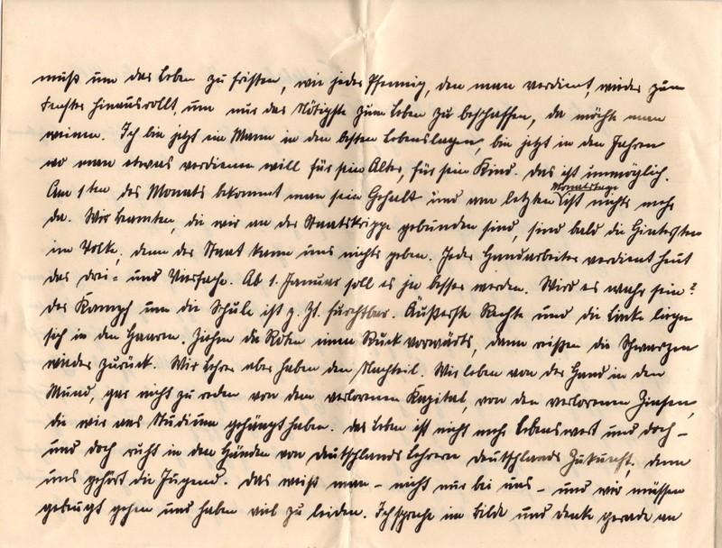Eugen Haas to Eugen Klee, November 7, 1919, page 2