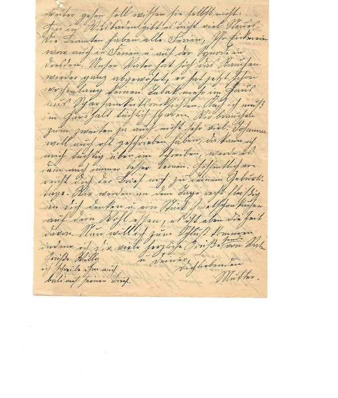 Caroline Emmel to Karl Emmel, August 23, 1926, p. 6