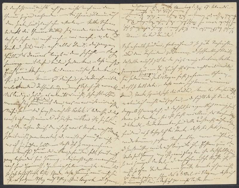 Emma Hilgard (von Xylander) to Henry Villard, December 2, 1867