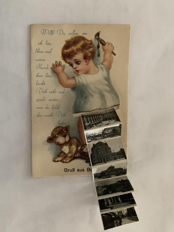 Mehler family postcard, January 27, 1938