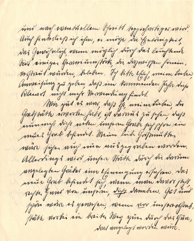 Eugen and Lisbeth Haas to Eugen Klee, July 19, 1926, p. 4