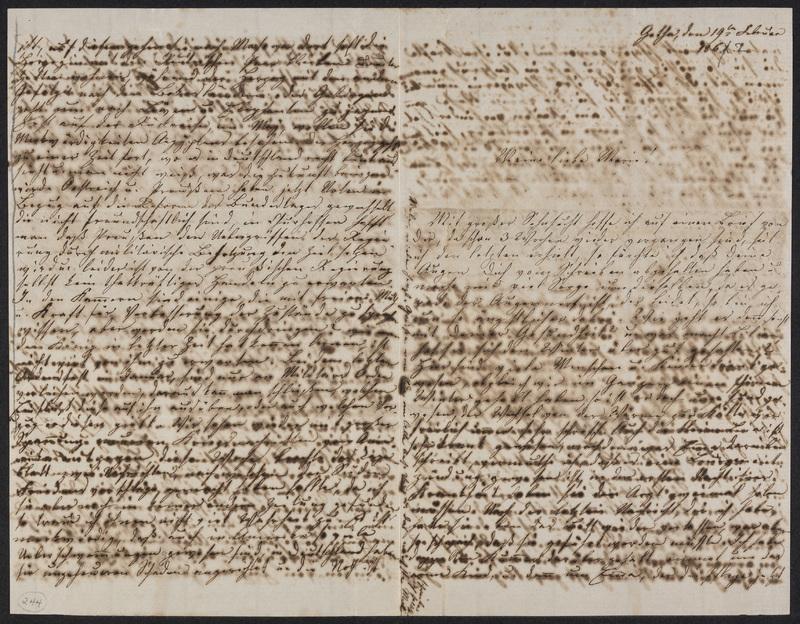 Lina Hansen to Marie Hansen Taylor, February 19, 1862