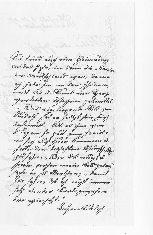 Benecke family letter, October 1, 1907, page 4