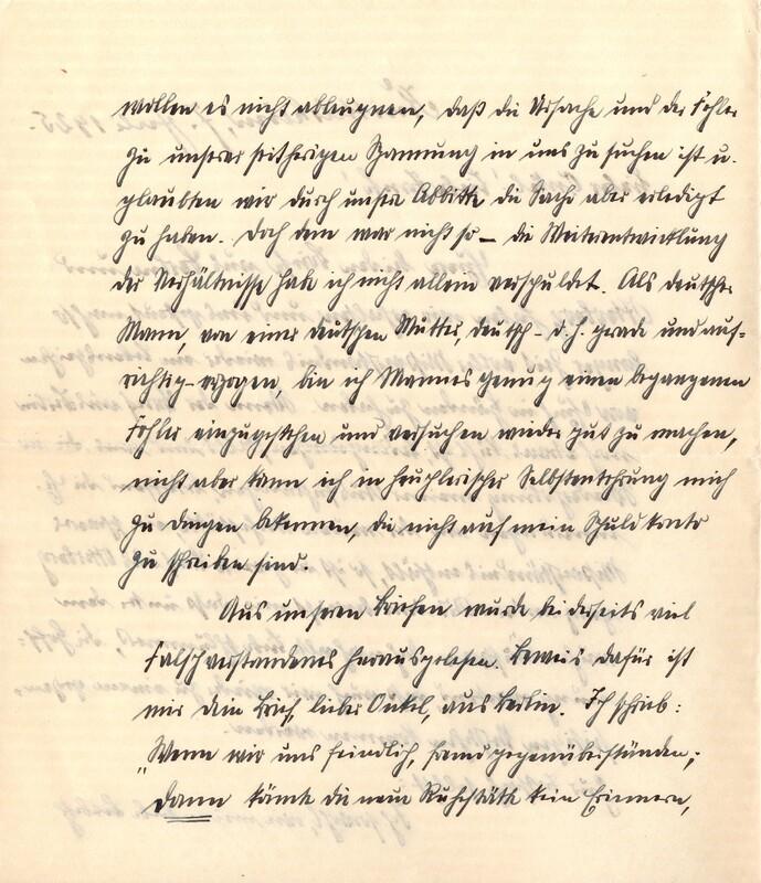 Eugen Haas to Eugen Klee, July 7, 1925, p. 3