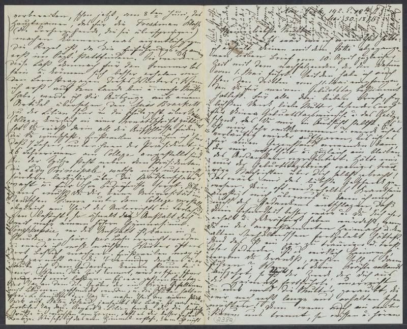 Marie Taylor to Lina Hansen, May 30, 1876