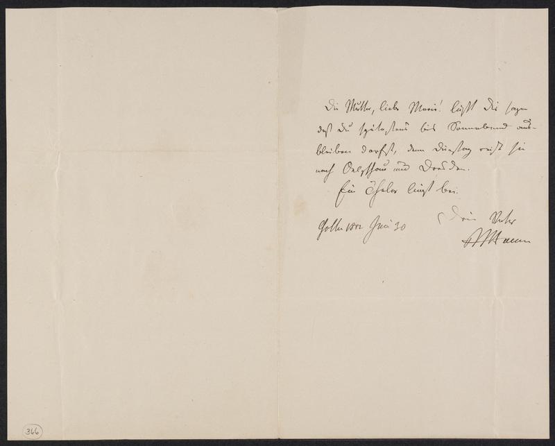 Peter Hansen to Marie Hansen Taylor, June 30, 1862