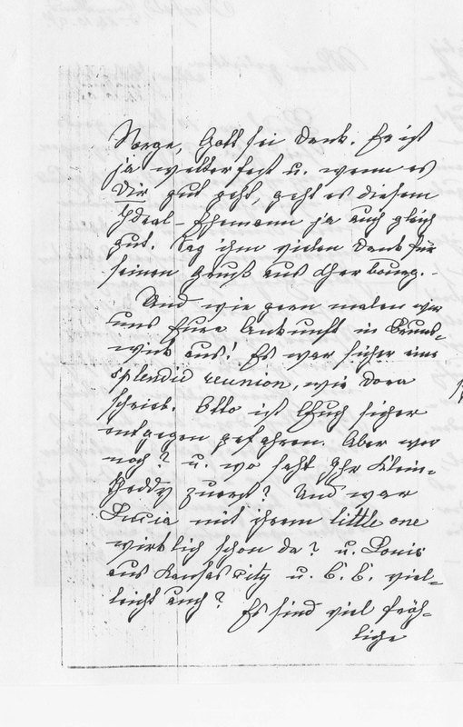 Benecke family letter, October 26, 1907, page 2
