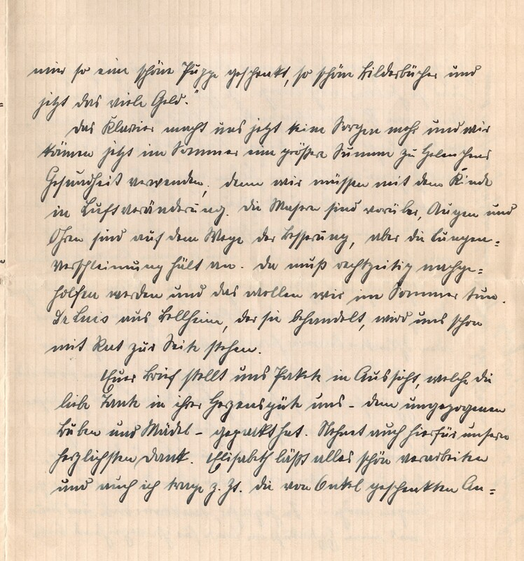 Eugen and Lisbeth Haas to Eugen Klee, January 26, 1926, p. 3