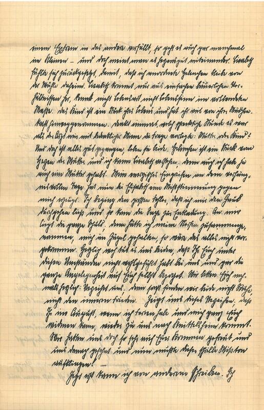 Eugen Haas to Eugen Klee, July 31, 1927, p. 2