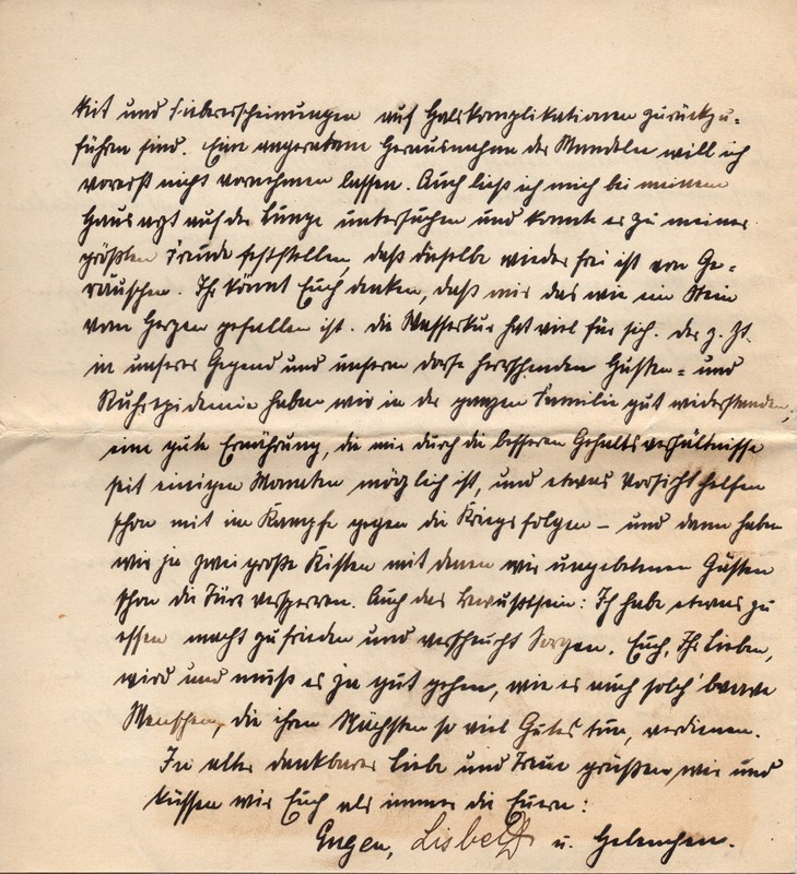 Eugen and Lisbeth Haas to Eugen Klee, August 21, 1920, p. 8