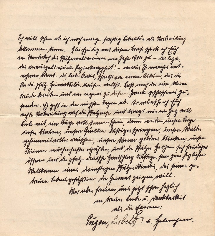 Eugen and Lisbeth Haas to Eugen Klee, March 29, 1920, p. 5