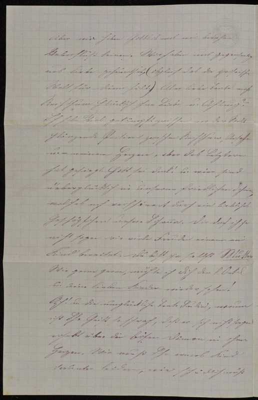 Höfeln family letter, June 18, 1869, page 2