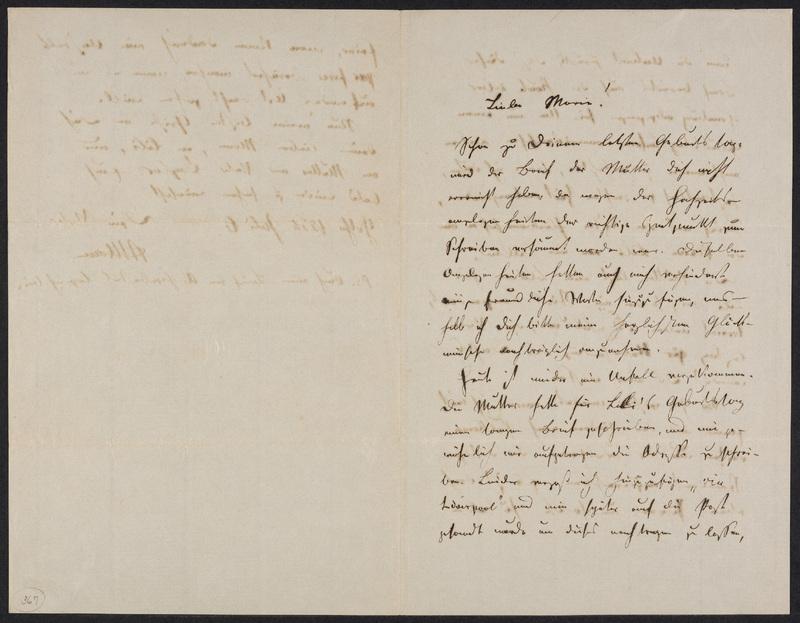 Peter Hansen to Marie Hansen Taylor, July 6, 1866