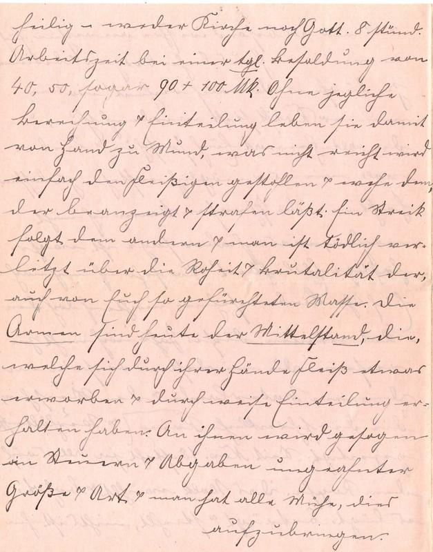 Fritz W. Berdel to Eugen Klee, July 6, 1920, p. 4