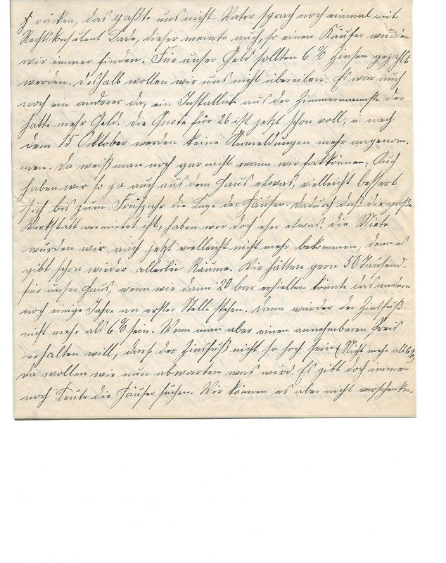 Caroline Emmel to Karl Emmel, October 11, 1926, p. 2