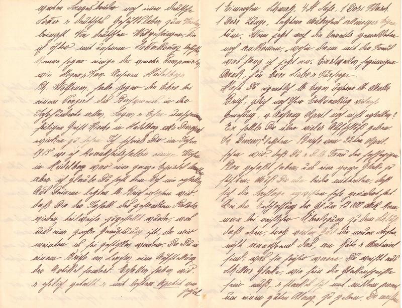 Mathilde Rettig and Heinrich Rettig to Eugen Klee, June 3, 1920, p. 2 and p. 3