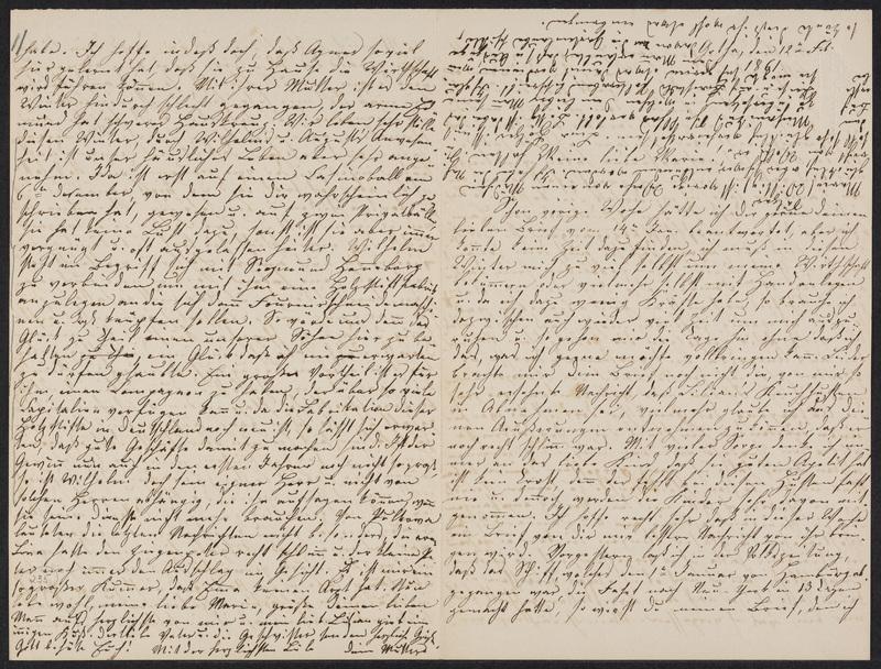 Lina Hansen to Marie Hansen Taylor, February 12, 1861