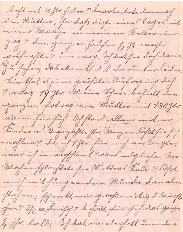 Fritz W. Berdel to Eugen Klee, July 6, 1920, p. 8