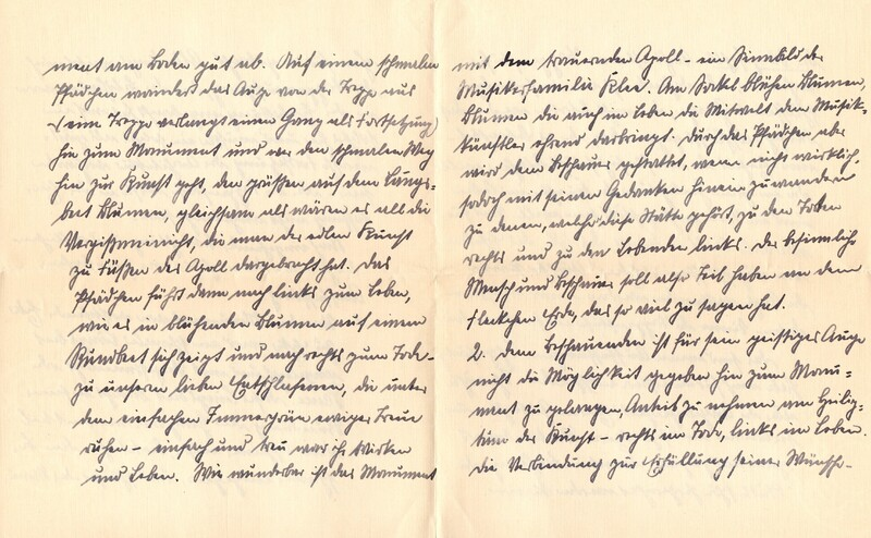 Eugen and Lisbeth Haas to Eugen Klee, November 11, 1926, p. 6 and p. 7
