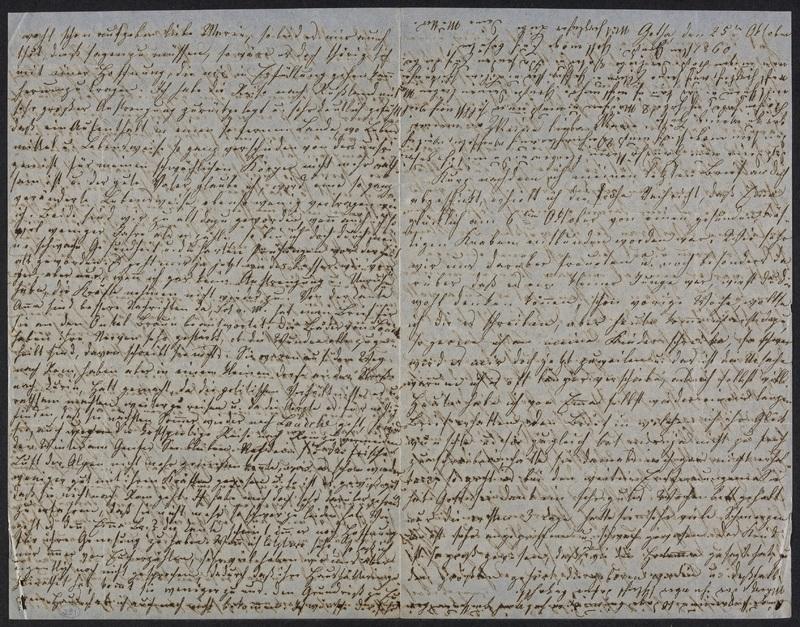 Lina Hansen to Marie Hansen Taylor, October 25, 1850
