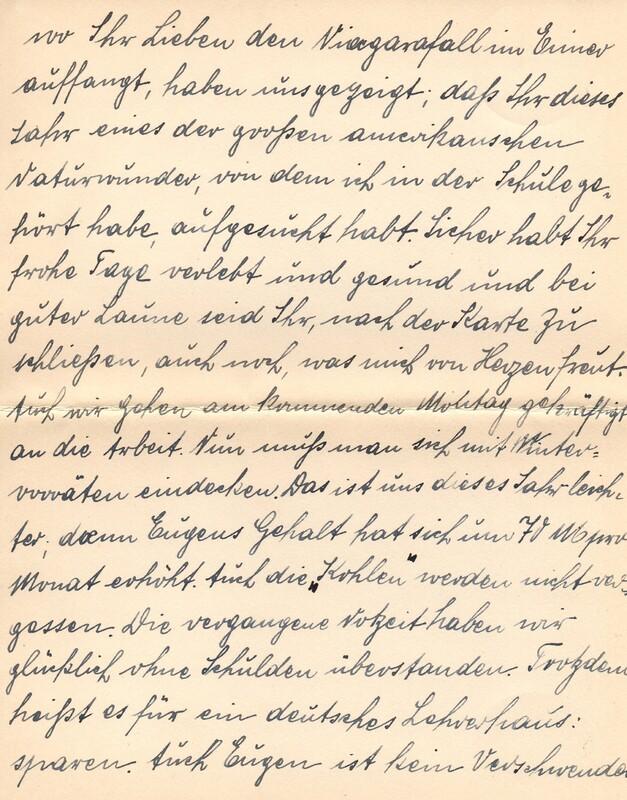 Eugen and Lisbeth Haas to Eugen Klee, October 6, 1924, p. 4