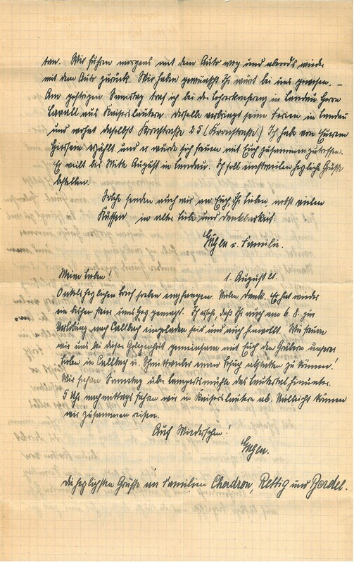 Eugen Haas to Eugen Klee, July 31, 1927, p. 4