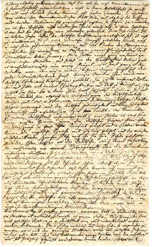 Theodor Engelmann to Margarethe Hilgard, February, 1838, p. 2