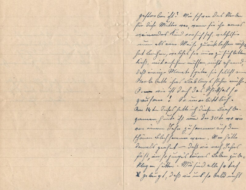 Lenchen Cherdron to Eugen Klee, July 14, 1922, p. 9