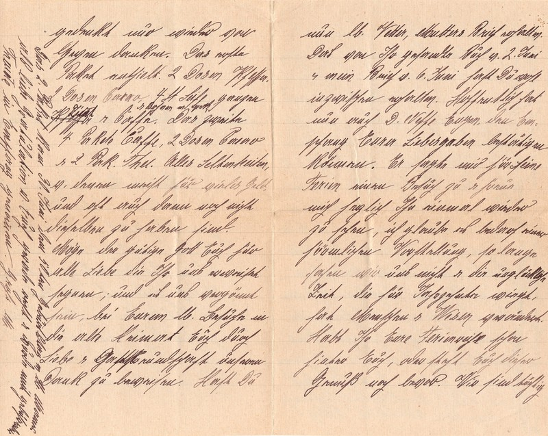 Mathilde Rettig and Heinrich Rettig to Eugen Klee, July 5, 1920, p. 2 and p. 3