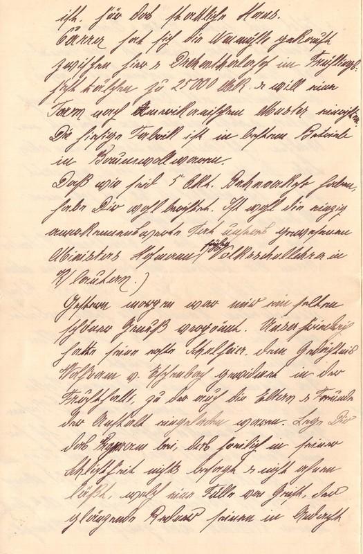 Mathilde Rettig and Heinrich Rettig to Eugen Klee, June 3, 1920, p. 8