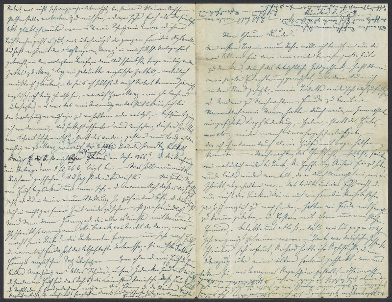 Emma Hilgard (von Xylander) to Henry Villard, January 1, 1869