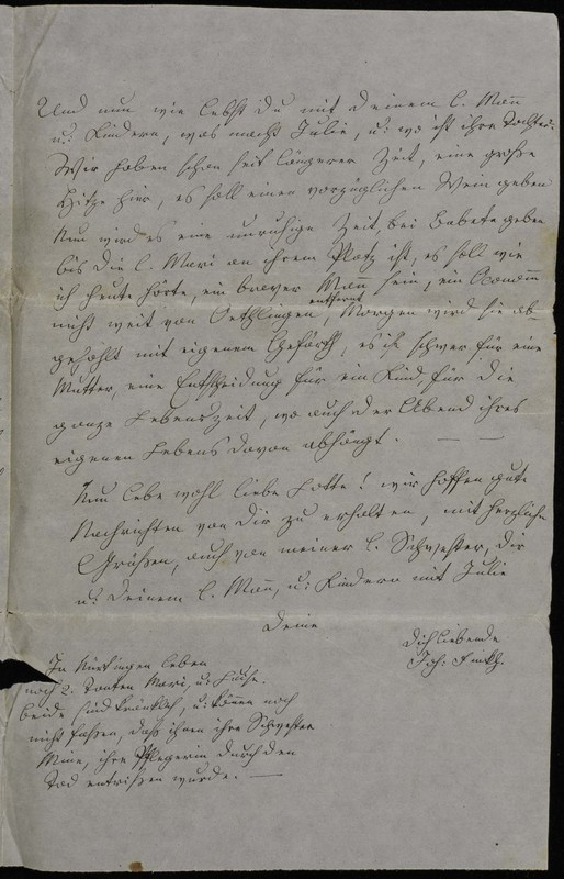 Hofeln family letter, August 15, 1868, page 3