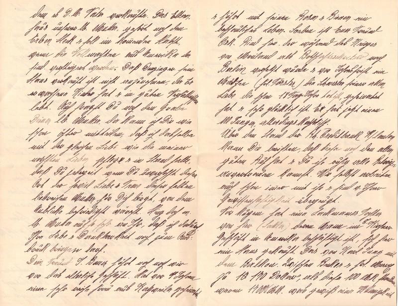 Mathilde Rettig and Heinrich Rettig to Eugen Klee, June 3, 1920, p. 6 and p. 7