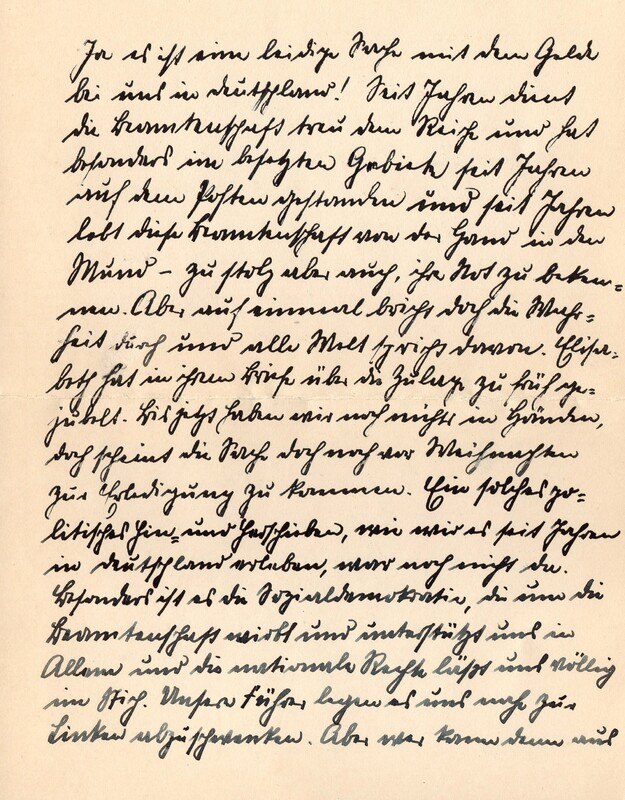 Eugen and Lisbeth Haas to Eugen Klee, December 15, 1927, p. 2