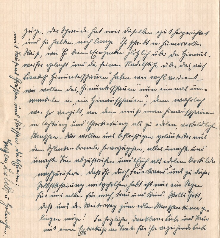 Eugen and Lisbeth Haas to Eugen Klee, January 26, 1926, p. 4