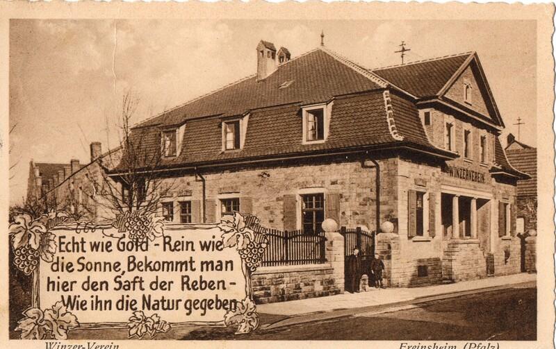 Eugen and Lisbeth Haas to Eugen Klee, April 15, 1928, postcard (front)