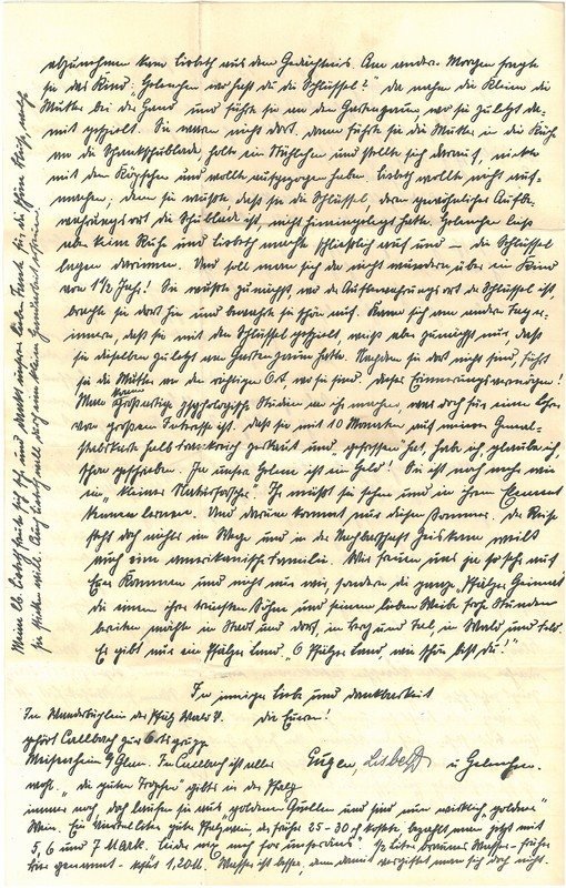 Eugen and Lisbeth Haas to Eugen Klee, May 30, 1920, p. 4