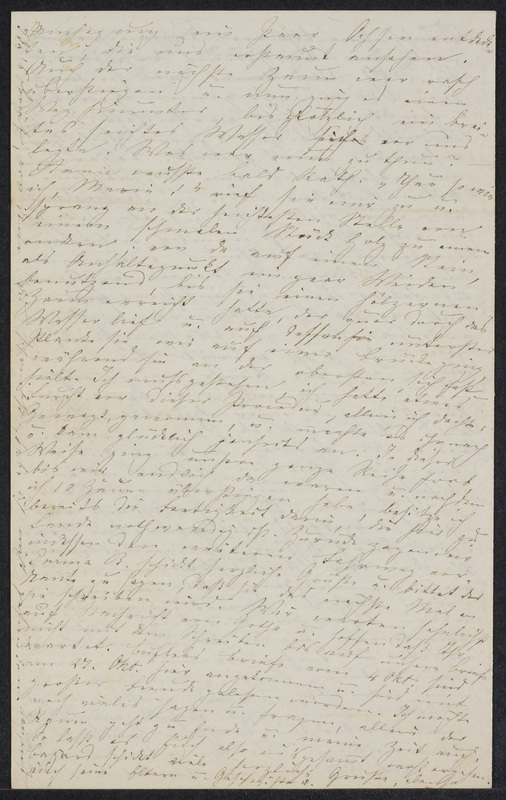 Marie Hansen Taylor to Lina Hansen, November 3, 1858, p. 8