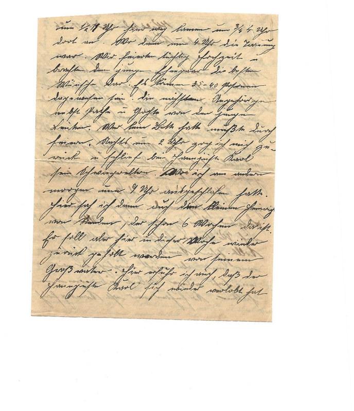 Caroline and Wilhelm Emmel to Karl Emmel, November 5, 1926, p. 2